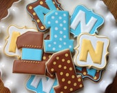 Preppy Polka Dot Sugar Cookie Party Favors