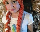 CROCHET PATTERN - Frozen's Anna Inspired Hat