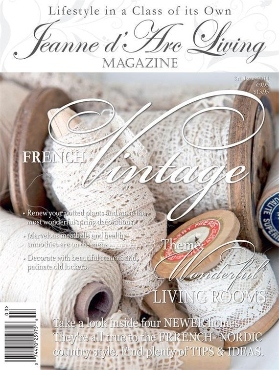 Jeanne d' Arc Living Magazine - March 2014 - In Stock