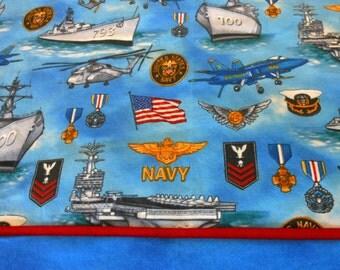 Pillowcase US Navy Choice of Sizes