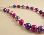 Metallic Colorful Necklace