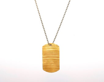 Sound and Fury Cymbal Necklace