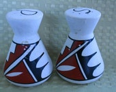 Southwestern Design Salt and Pepper Shakers - Vintage, Collectible