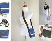 Crossbody Bag Pattern - Messenger Bag Pattern - Instant Download PDF - Digital Download Sewing Pattern -PDF Sewing Pattern - Sewing PDF