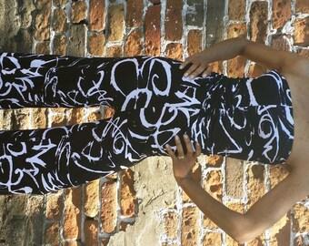 Strapless Jumpsuit - Grafitti