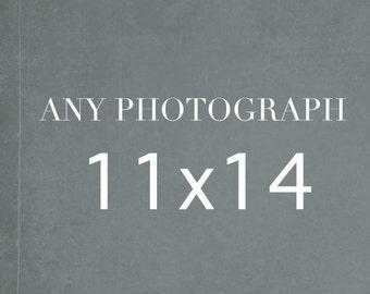 11x14 Photography Print