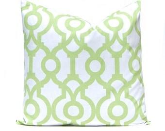 Kiwi Green Pillows, Pillow Cover, Mint Green Pillow, Decorative Throw Pillow Cover, Green Cushion Cover, Kiwi Green Accent Pillow, Polka Dot