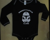 Star Wars Inspired Daddy's Little Clone Onesie