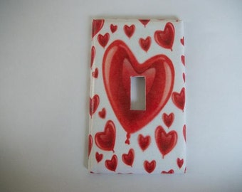 SWITCH PLATE COVER - Hearts