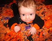 Halloween Rag Quilt