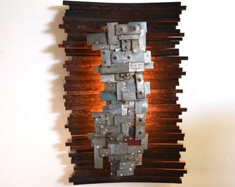 "STUDIO - ""Hehku"" - Art and wall light, Limited Edition - 100% recycled"