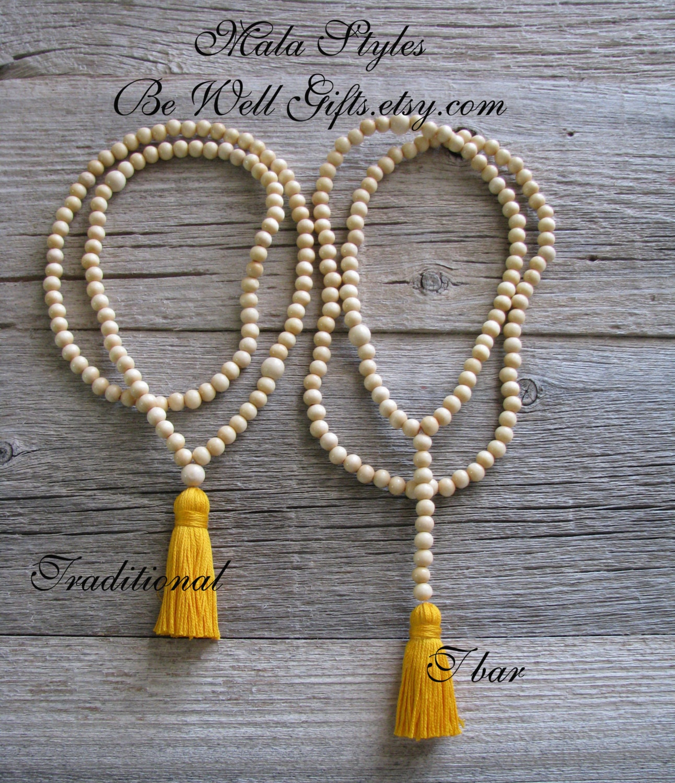 Yoga Beads: Mala Meditation Beads Spiritual Jewelry 108 Bead Meditation