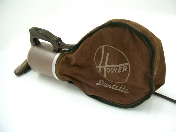 Mid Century vintage portable hand vacuum cleaner, Hoover Dustette, clean the car for teens, men, women.