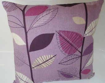 "PAIR Purple Grape Designer Pillowcase Sham Slips Accent Throw Pillow. 16"" (40cm)"