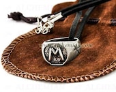 Morgenstern Wayland ring necklace