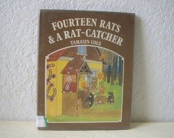 Childrens Book,  Fourteen Rats and a Rat Catcher, hardcover, DJ, 1976