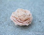 PDF pattern felting tutorial rose felted flower felted rose tutorial felted rose broch pattern for felt easy felt lesson felting DIY