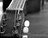 Hawaiian Guitar no 1 - 5x7 matted photographic art print