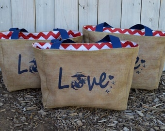 50 Custom Wedding Tote Bags - Eco-Friendly and Handmade from Recycled Coffee Sacks