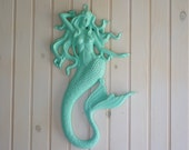 Mermaid Wall Decor - Little Mermaid - Mermaid Style - Coastal - Home - Decor