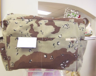 diaper bag   , large camouflage bag, the cable guy bag, travel bag