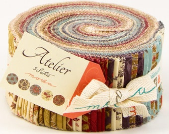 Atelier - Jelly Roll by 3 Sisters for Moda Fabrics