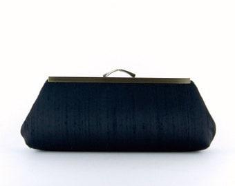 Silk Clutch, 8 Colors, Wedding Clutch, Wedding bag, Bridesmaid clutch, Bridal clutch, Purse for wedding