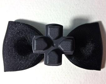 Gamer hair bow