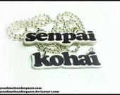 Senpai and Kohai Necklaces
