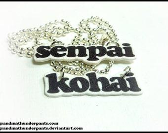 Senpai and Kohai Necklaces