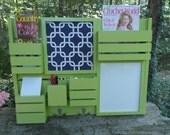 Message Center---Kitchen Decor--Mail Organizer--Magazine Holder