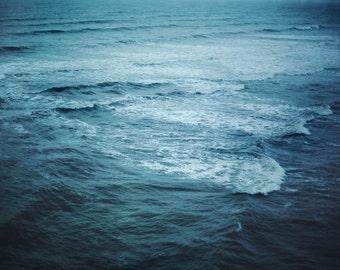 The Sea is Calling - 8x12 Fine Art Photograph, Atlantic City, Ocean, Waves