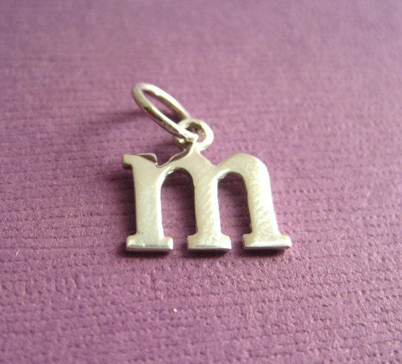 m letter in silver - photo #46