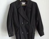 80s YSL rive gauche grey jacket size M-L