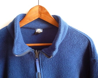 Vintage Sierra Designs Navy Fleece XL