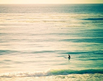 Photography by Cindy Taylor, Fine Art Photography, Coastal Home Decor, Wall Art, Beach, Surf, Turquoise, Teal, Sunlight,  8x8 Print