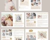 INSTANT DOWNLOAD Naturally Sweet Newborn Photography Product Pricing and Information Magazine