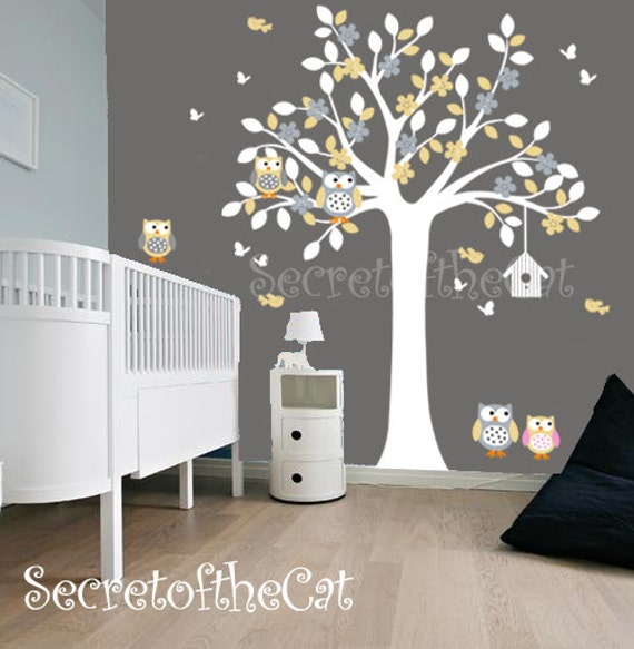 ursery wandtattoo wand aufkleber kinderzimmer. Black Bedroom Furniture Sets. Home Design Ideas