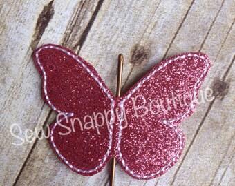 Butterfly Bobbypin