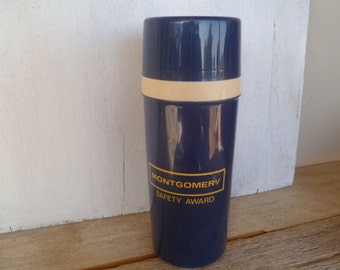 Aladdin Thermos with lid Montgomery Safety Award
