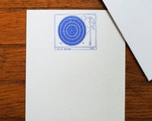 Record Player stationery set music letter writing hipster stationary