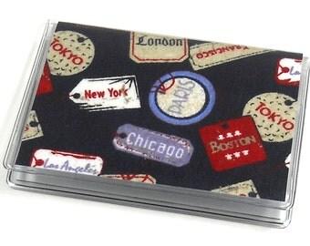 Card Case Mini Wallet Vintage Travel