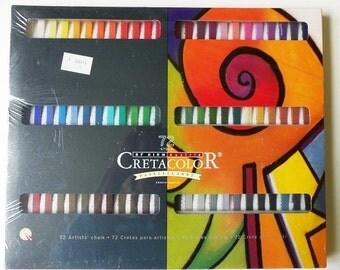 72 Cretacolor Pastels ~ New Hard Pastel Artist Chalk
