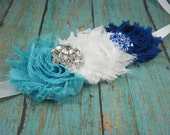 Bridal sash sale - robin's egg blue sash for bride - maternity sash - sash for wedding - bridal belt