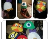 Custom crochet hat free shipping within the US