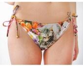 Kitty Garden Party String Swim Bottom