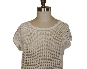 Crochet Dress One Size M