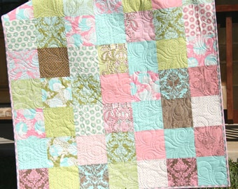 Popular items for shabby chic quilt on Etsy