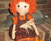 Prim Orange haired  Raggedy Witch