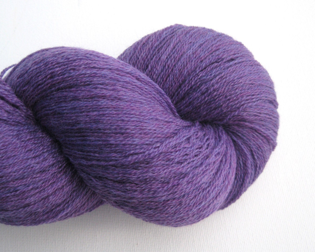 Lace Weight Yarn : Lace Weight Merino Wool Recycled Yarn by ThoughtfulRoseSupply